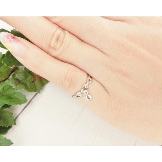 Pt900 ダイヤモンド0.02ct ピンキー リング|jewelry-watch-bene|03
