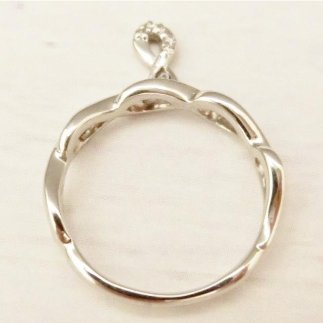 Pt900 ダイヤモンド0.02ct ピンキー リング|jewelry-watch-bene|04