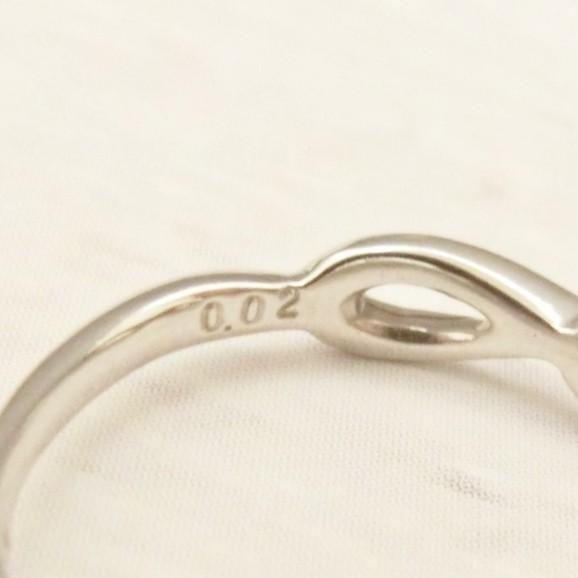 Pt900 ダイヤモンド0.02ct ピンキー リング|jewelry-watch-bene|05