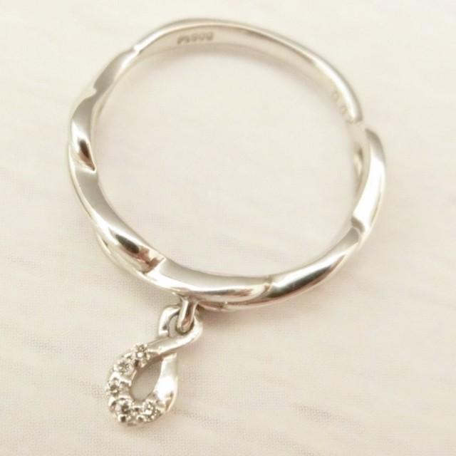 Pt900 ダイヤモンド0.02ct ピンキー リング|jewelry-watch-bene|06