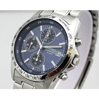 SEIKO/セイコー SPIRIT/スピリット クロノグラフ メンズウォッチ ブルー/青文字板 SBTQ071|jewelry-watch-bene|03