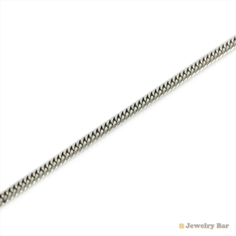 Pt850 喜平 ネックレス 6面ダブル 10g 40cm 造幣局検定付 プラチナ チェーン メンズ レディース|jewelrybar