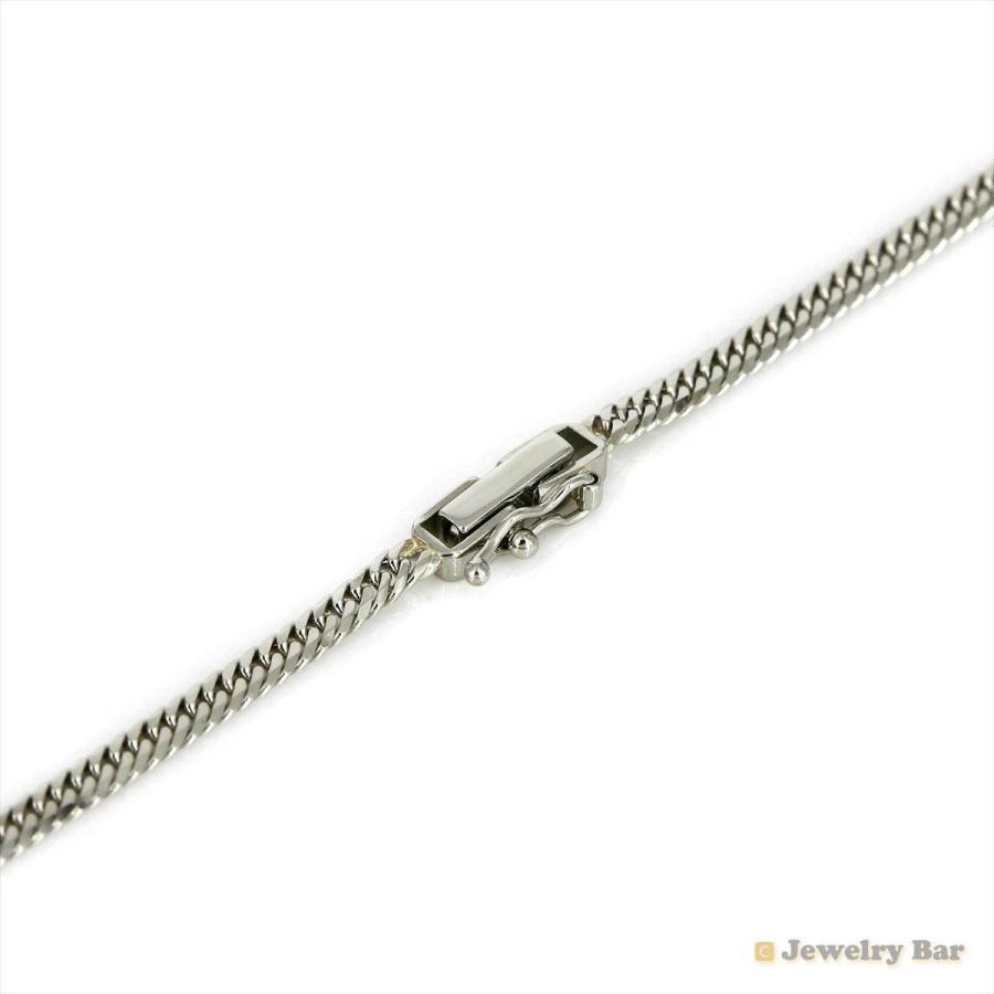 Pt850 喜平 ネックレス 6面ダブル 10g 40cm 造幣局検定付 プラチナ チェーン メンズ レディース|jewelrybar|02