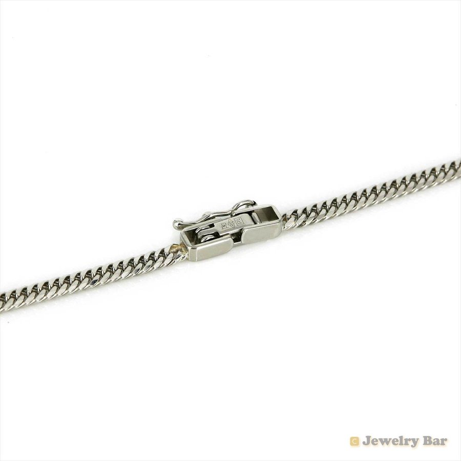Pt850 喜平 ネックレス 6面ダブル 10g 40cm 造幣局検定付 プラチナ チェーン メンズ レディース|jewelrybar|03