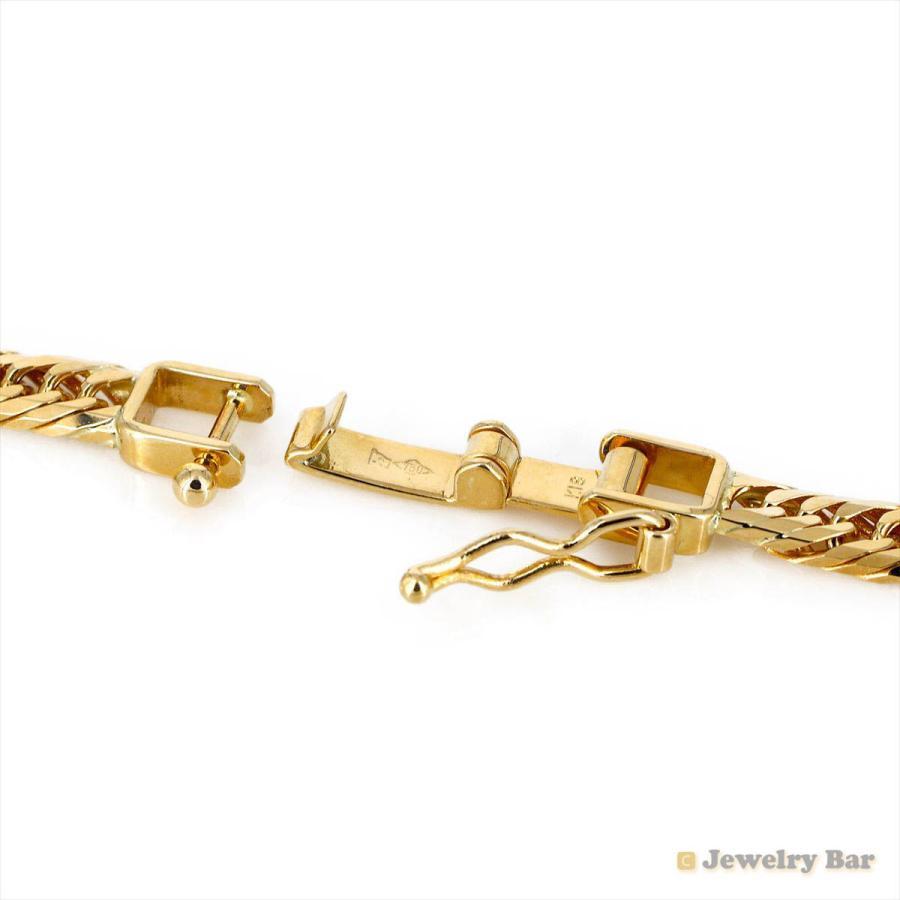 K18 喜平 ネックレス 8面トリプル 20g 50cm 造幣局検定付 ゴールド チェーン メンズ レディース 18金 jewelrybar 04