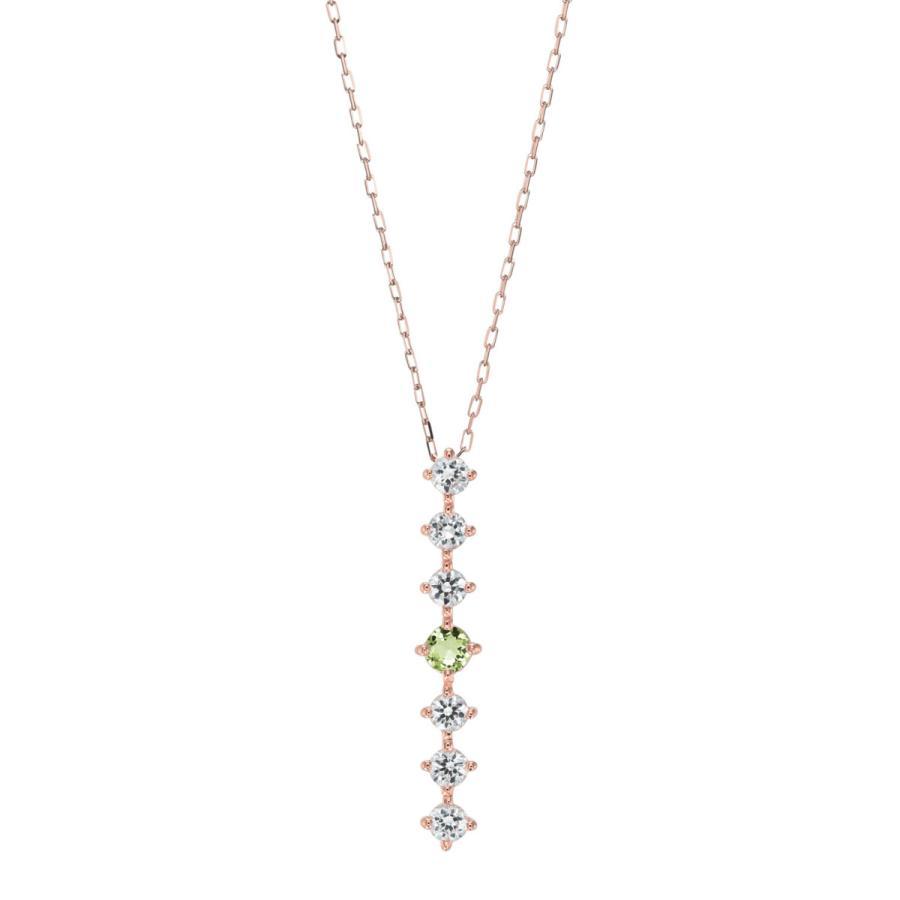 K10ゴールド【選べるゴールドカラー】 ペリドット ダイヤモンド 0.24ct ペンダント ネックレス 8月誕生石 シンプル ストレートライン|jewelrycraft-aqua|14