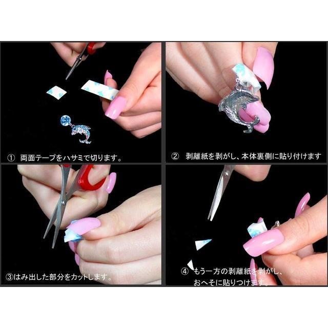 医療用両面テープで 貼るだけ 穴を開けない へそピアス ベリーピー ハート ジャラジャラ ライトシャム/レッド シルバー 11mm|jewelryhanazono|11