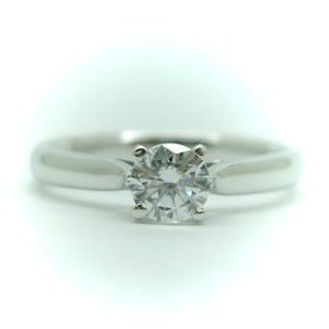 【WEB限定】 0.2ct. F-VVS1-3EX (H&C) PT900 プラチナ 婚約指輪 エンゲージリング ダイヤモンドリング 4本爪 鑑定書付, ALEX PC 3bccb2ab