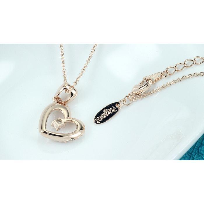 ネックレス レディース ハートスワロフスキー 可愛い プレゼント 金属アレルギー対応 jewelrysanmi 10