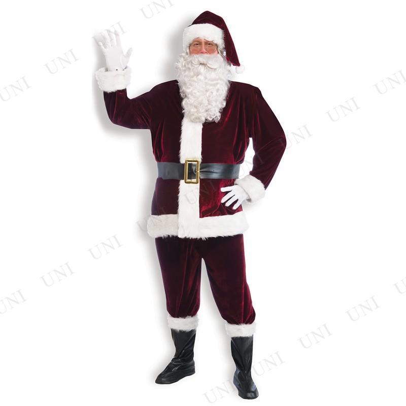 サンタ コスプレ ベルベットサンタスーツ Std 仮装 衣装 メンズ コスチューム 大人用