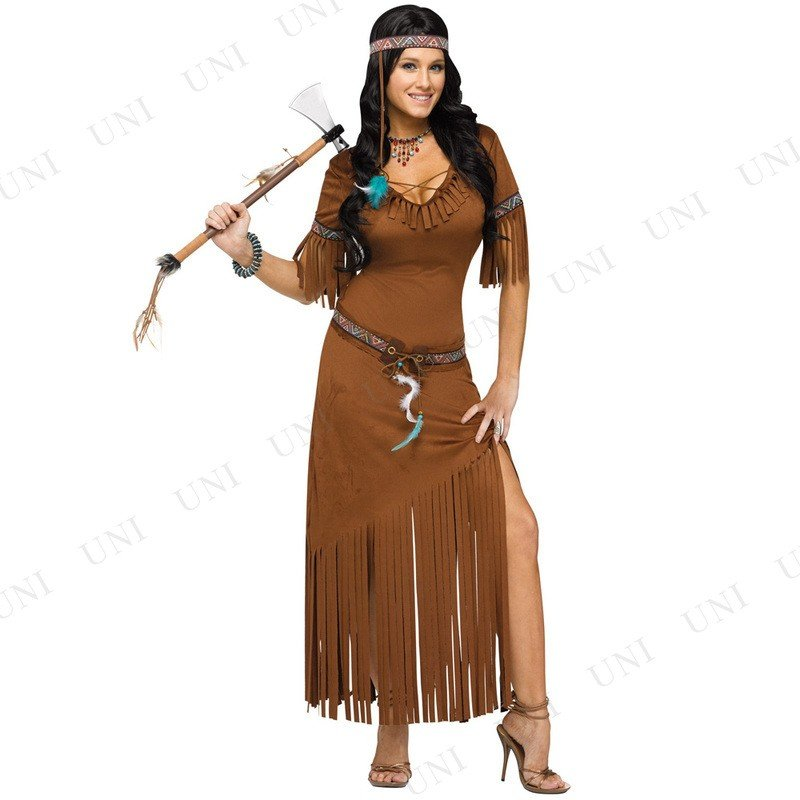 インディアンサマー ML 仮装 コスプレ ハロウィン 余興 コスチューム 大人用 民族衣装