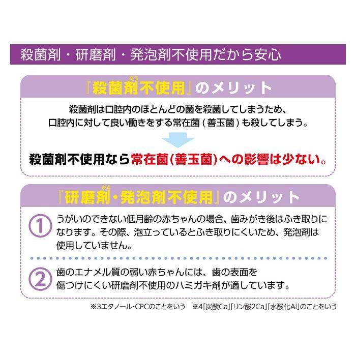 L8020乳酸菌 ジェクス CB L8020乳酸菌使用 指ハブラシ付 歯みがきタイムジェル 8g ぶどう風味 [6ヶ月頃〜] 日本製|jex|05