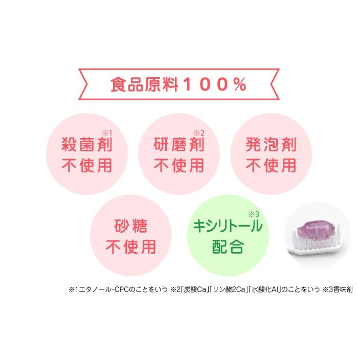 L8020乳酸菌使用 CB 歯みがきタイムジェル 30g ぶどう風味/いちご風味 [6ヶ月頃〜] ジェクス 日本製|jex|04