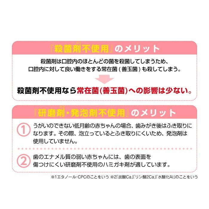 L8020乳酸菌使用 CB 歯みがきタイムジェル 30g ぶどう風味/いちご風味 [6ヶ月頃〜] ジェクス 日本製|jex|06