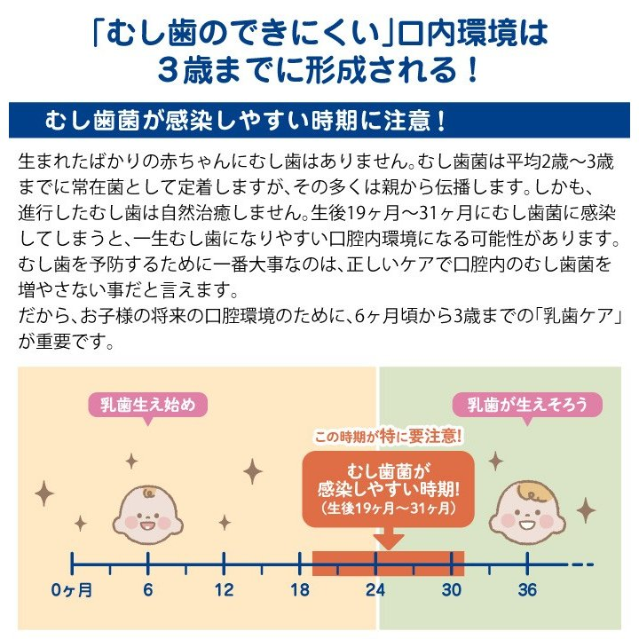 L8020乳酸菌使用 CB 歯みがきタイムジェル 30g ぶどう風味/いちご風味 [6ヶ月頃〜] ジェクス 日本製|jex|09