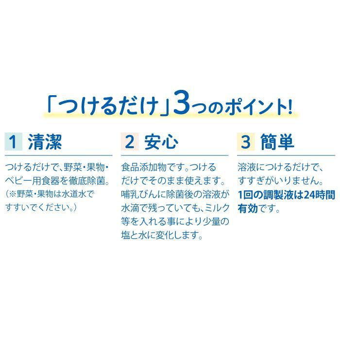 つけるだけ 濃縮タイプ 400mL チュチュ ジェクス 次亜塩素酸ナトリウム製剤 24時間有効 日本製 [3月新発売]|jex|06