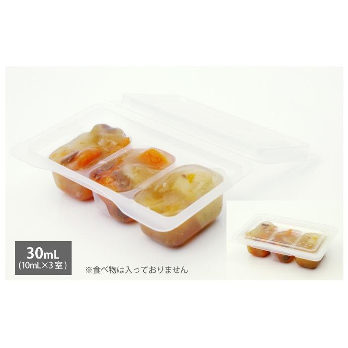 モグモグ小分けパック 30mL/60mL/120mL 離乳食用 電子レンジ可 日本製 Baby Meal Pack ジェクス チュチュ ChuChu|jex|08