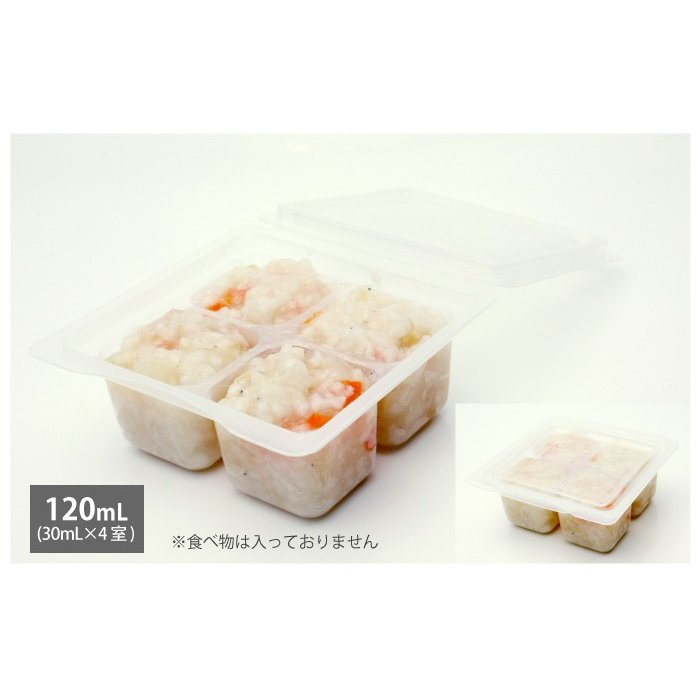 モグモグ小分けパック 30mL/60mL/120mL 離乳食用 電子レンジ可 日本製 Baby Meal Pack ジェクス チュチュ ChuChu|jex|10