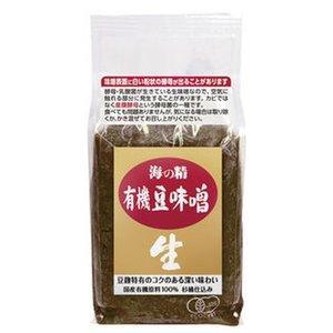 国産有機豆味噌 1kg(海の精) jf-foods