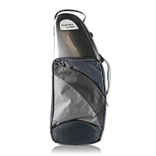 バム アルトサクソフォン用 ハイテックケース ポケット付き ツィード 4101XLPT