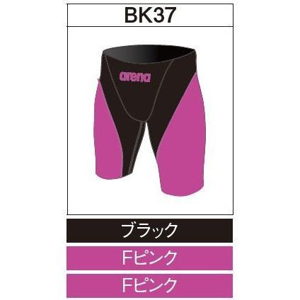 アリーナ カスタムオーダー受注生産 競泳スイムウエア(メンズ)FINA承認モデル OAR7011MN-BK37 ベースカラー:ブラック