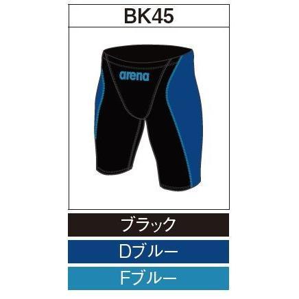 アリーナ カスタムオーダー受注生産 競泳スイムウエア(メンズ)FINA承認モデル OAR7022MN-BK45 ベースカラー:ブラック