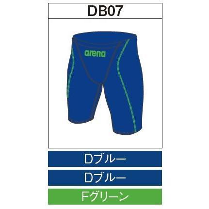 アリーナ カスタムオーダー受注生産 競泳スイムウエア(メンズ)FINA承認モデル OAR7022MN-DB07 ベースカラー:Dブルー