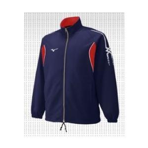 ミズノスペクトラ受注生産 ウォームアップシャツ テクノファインブレーバー2素材 バレーボールウエア  P2JT8A28