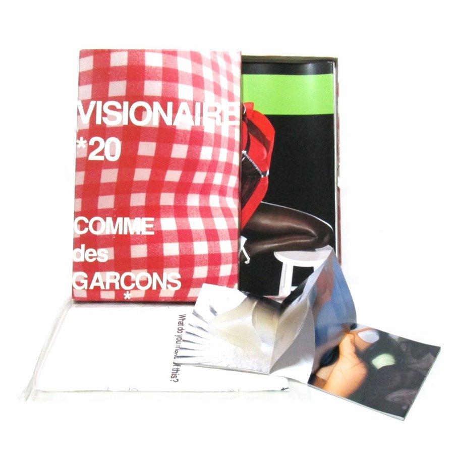 VISIONAIRE 20 COMME des GARCONS ヴィジョネア 20 コムデギャルソン 限定 レッド