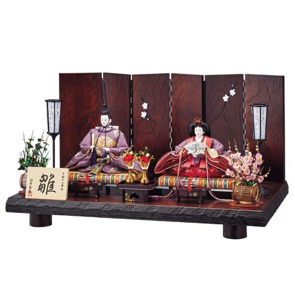【新品本物】 初節句飾り 親王飾り ひな人形 雛人形-記念、行事用品