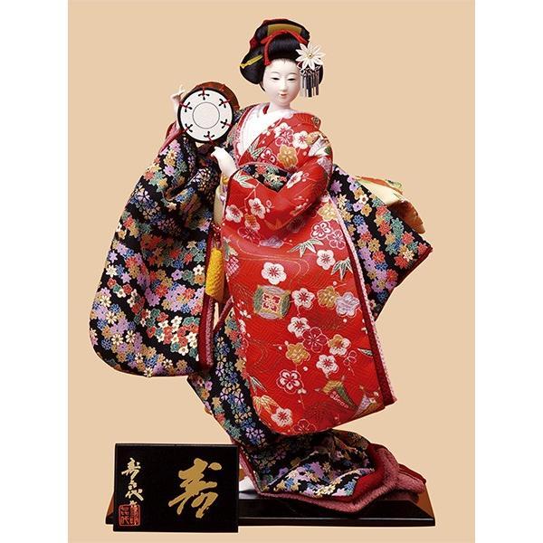日本人形 6号尾山人形 極上688 正絹