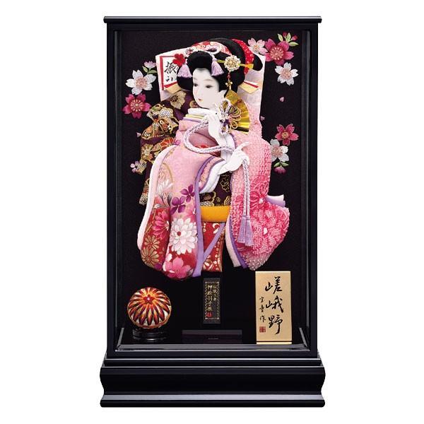 羽子板 初正月 羽子板飾り 17号 ケース入り お祝い 正月飾り 手作り おしゃれ 新嵯峨野