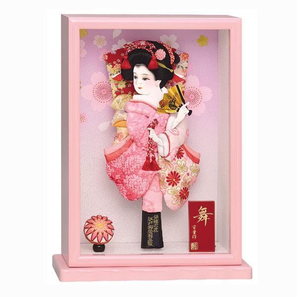 羽子板 額入り 初正月 羽子板飾り 10号 ケース入り お祝い 正月飾り 手作り おしゃれ 舞 ピンク