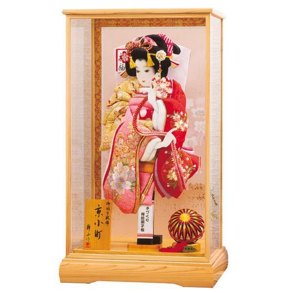 羽子板 18号 初正月飾り 京小町 102856 お祝 羽子板飾り コンパクト ミニ