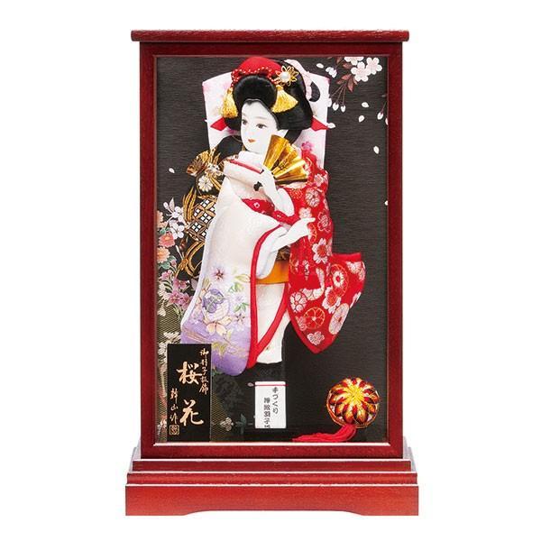 羽子板 10号 初正月飾り 桜花 102839 お祝 羽子板飾り コンパクト ミニ