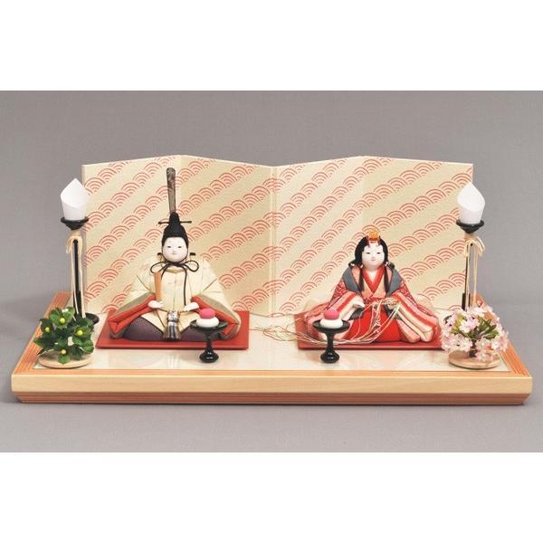 雛人形/ひな人形 幸一光 木目込み 美織親王飾り4190