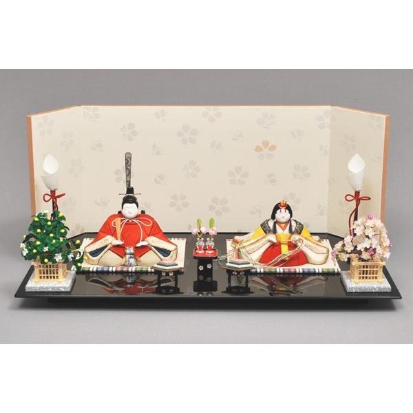 雛人形/ひな人形 幸一光 木目込み 春日親王飾り出し飾り4550