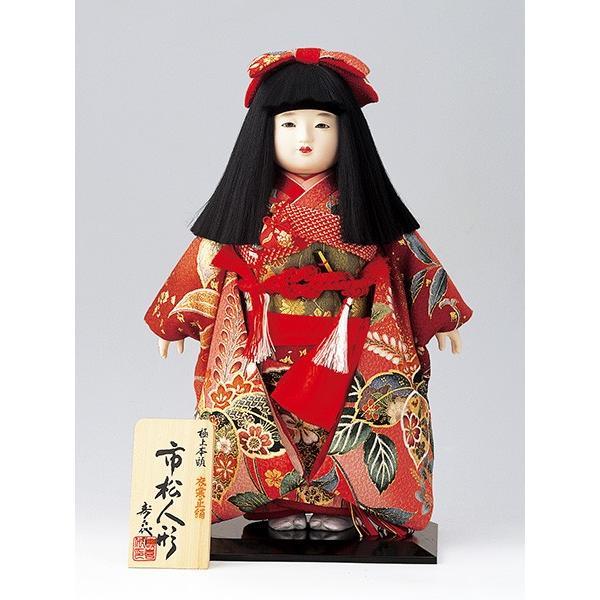 市松人形 12号 華鶴 京染正絹