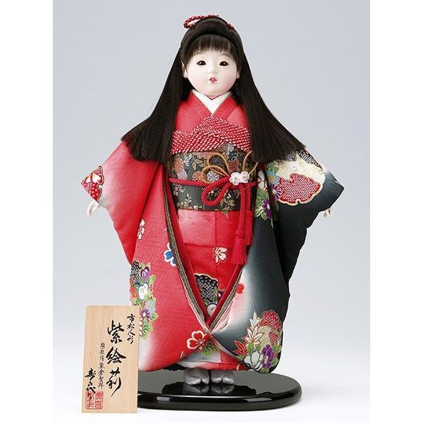 市松人形 13号 紫絵莉 正絹