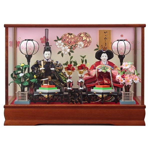 雛人形 ケース飾り 親王飾り ひな人形 室町 153-203