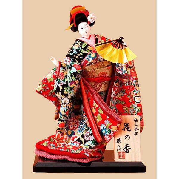 日本人形 5号尾山人形 花の香515 正絹