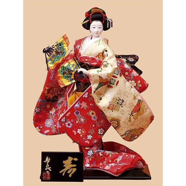 日本人形 6号尾山人形 極上685 友禅
