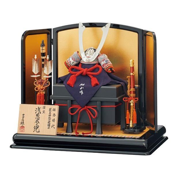 五月人形 兜飾り 12号 雄山作 平飾り 国宝模写 kabuto60-69