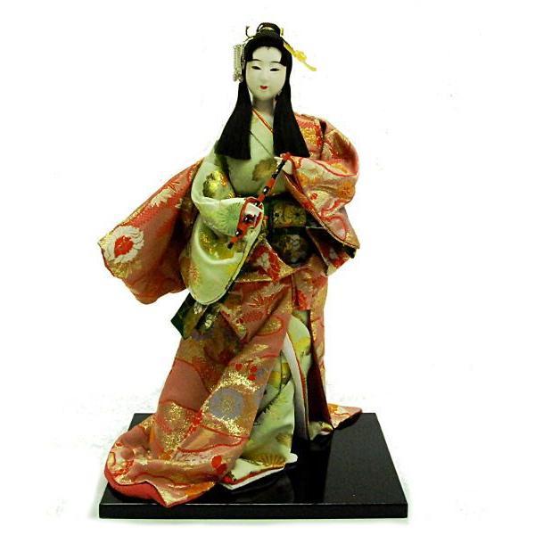 日本人形 打掛 普(尺) 新尾山 古代人形