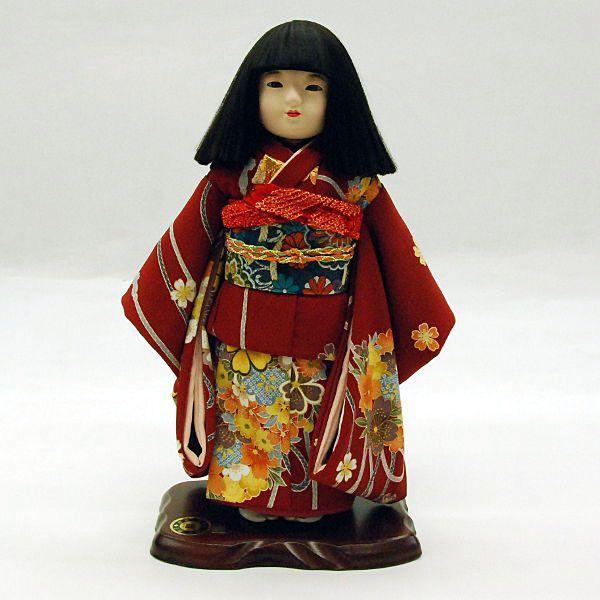 市松人形11号 澪 女の子 いちまつ人形