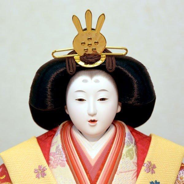 雛人形 久月 7段飾り ひな人形 初節句飾り 七段飾り 15人飾り お祝|jinya|04