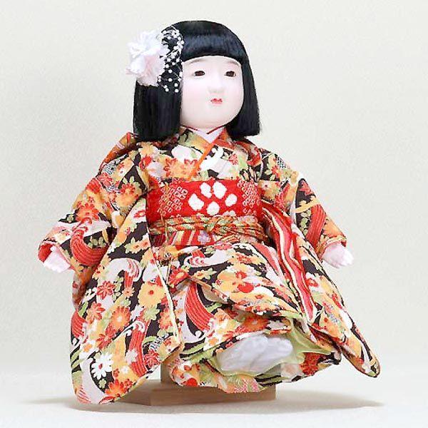 市松人形 抱き人形 13号 いちまつ人形 13号駒d