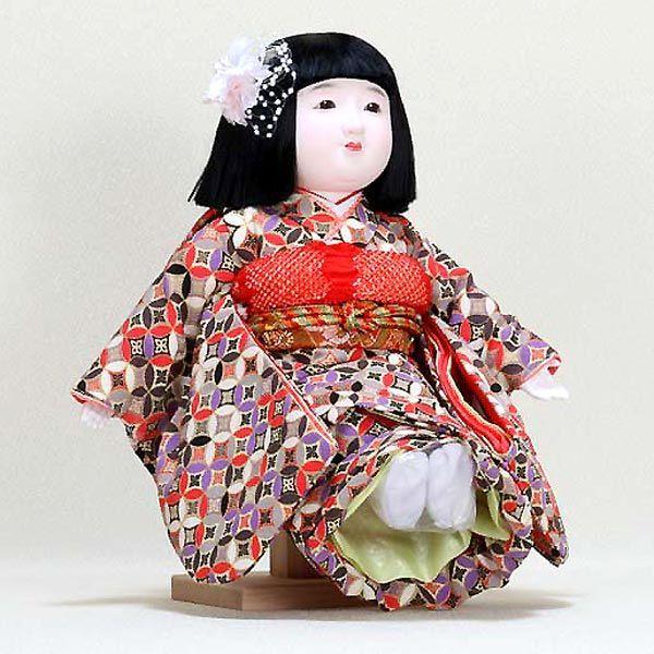 市松人形 抱き人形 13号 いちまつ人形 13号駒f