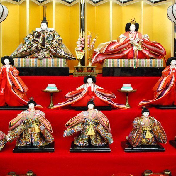 雛人形 七段飾り ひな人形 43t|jinya|06