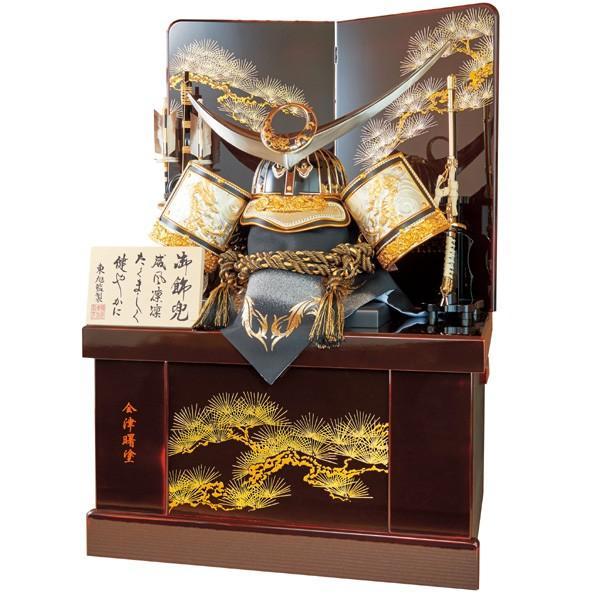 五月人形 兜飾り 着用兜セット 収納飾り 上杉謙信 kabuto60-69